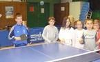 Les photos du tennis de table CE2