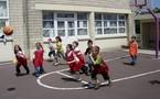 Troisième séance de basket!!