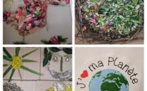 Les maternelles fêtent le jour de la terre !